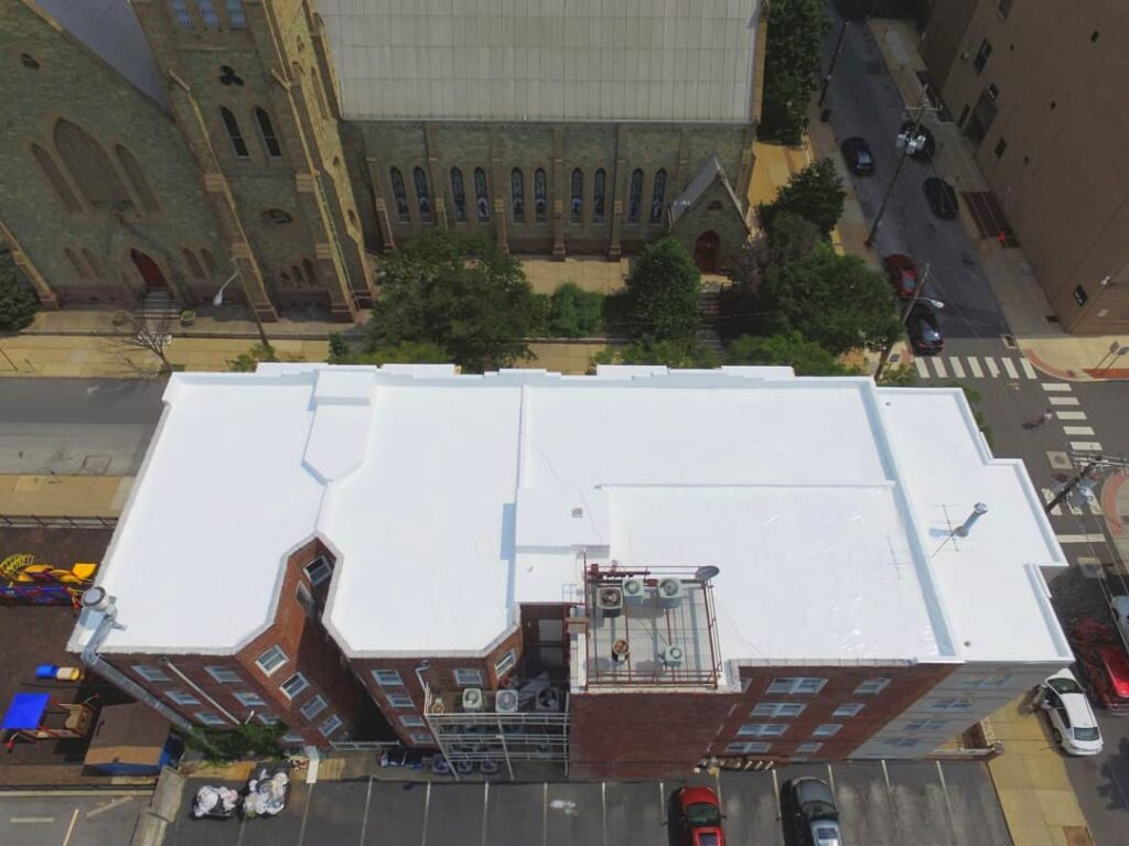 After: Commercial Roof Replacement