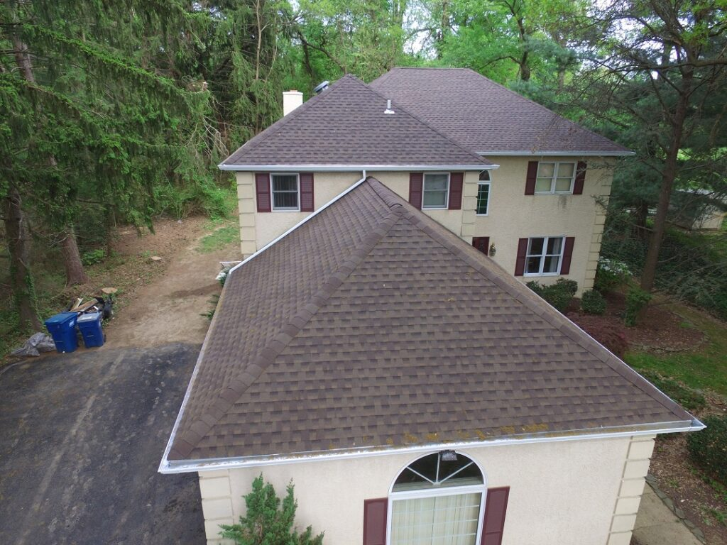 After - full roof replacement