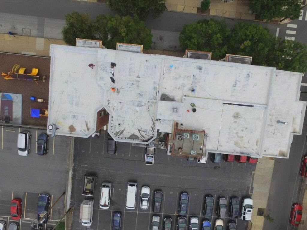 Before: Commercial Roof Replacement
