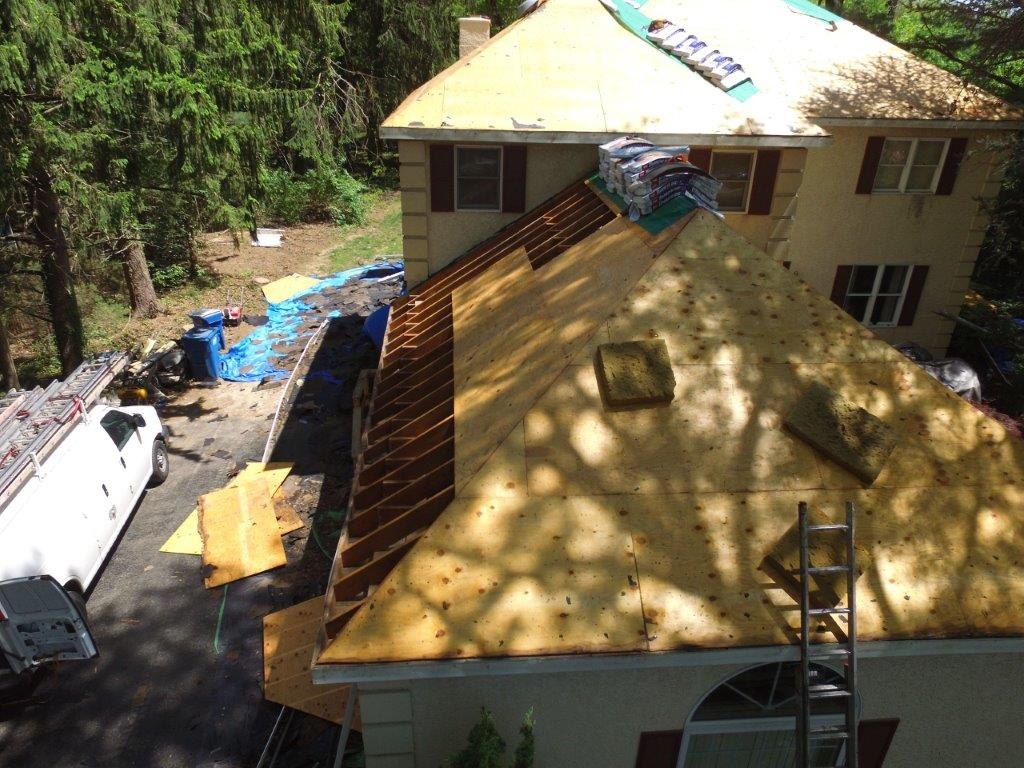 Before - full roof replacement